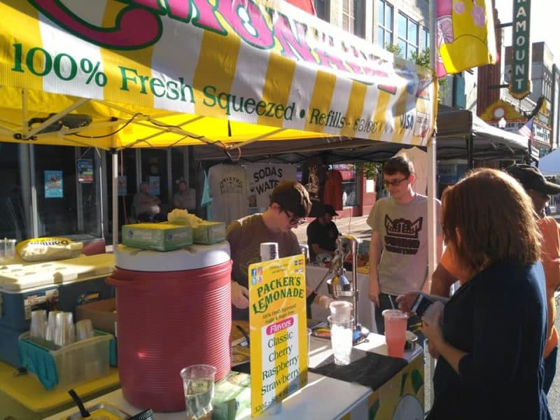 how to make money selling lemon shakeup